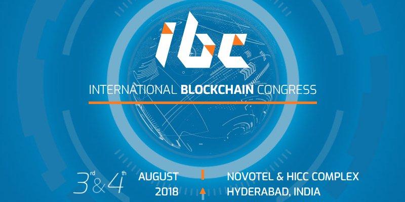 Международный конгресс по вопросам блокчейн-технологий пройдет в Индии 3-4 августа 2018