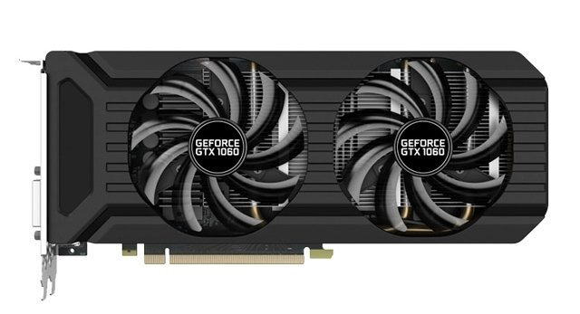GeForce GTX1060 Palit Dual PCI-E 3072Mb