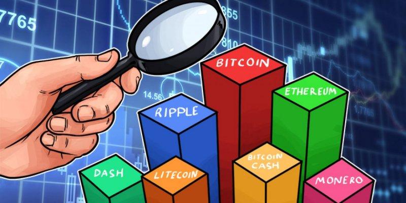 Интерес к криптовалютам падает. Веб-трафик криптобирж снизился вдвое