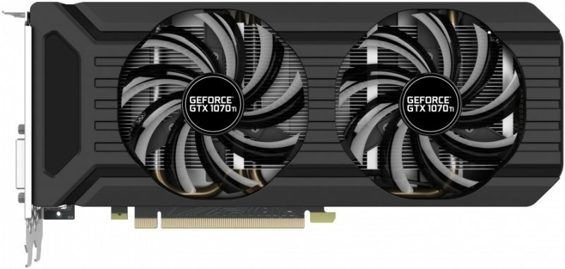 GeForce GTX1070 Palit Dual PCI-E 8192Mb