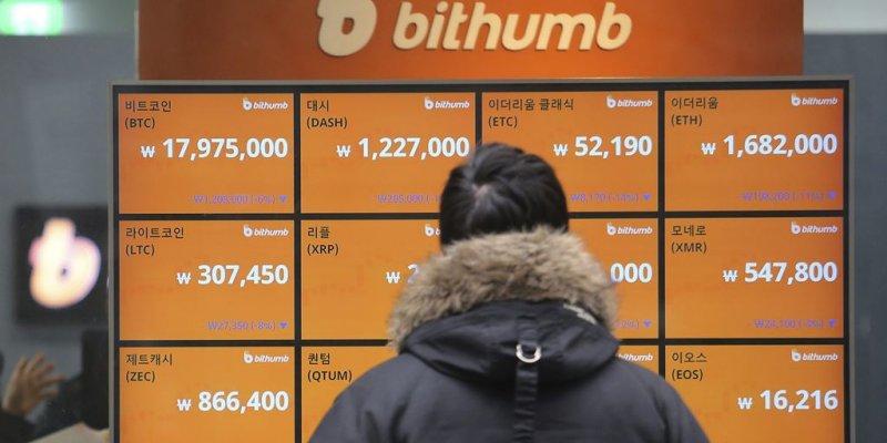 5 альткоинов добавлены в листинг биржи Bithumb. Их цена растет