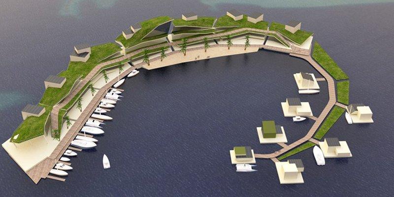 Плавучий город-остров с собственной криптовалютой – проект обещают реализовать к 2022 году